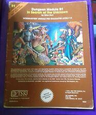 B1 en busca de aventuras básico D&D RPG Dungeon & Dragons Aventura módulo Libro