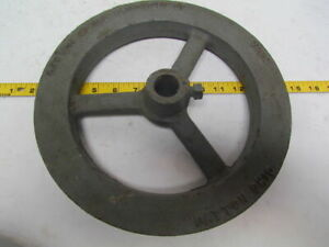 "Dayton Metal 700G 11"" O.D. Chain Sprocket Wheel Pulley 1-5/16"" thick cast iron"