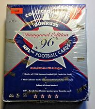 1996 Donruss Football Card Unopen Collectors Kit Wax Box - Rare !