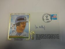 Don Mattingly Opening Day Autographed Cache New York Yankees M92200