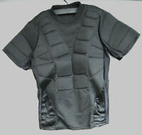 3Skull Paintball Airsoft Padded Protective Breathable Vest Black Medium M