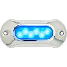Light Armor Blue Low Profile Underwater LED Light for Boats - 2,750 Lumens