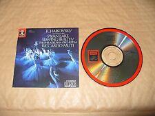Tchaikovsky Swan Lake/Sleeping Beauty Riccardo Muti cd Japan Press 1984 Excellen