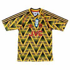 Authentic Adidas Arsenal 91-93 Away Football Shirt 1991 1993 Bruised Banana New