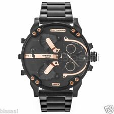 Diesel Original DZ7312 Mr Daddy 2.0 Black Stainless Steel Chrono Watch 57mm