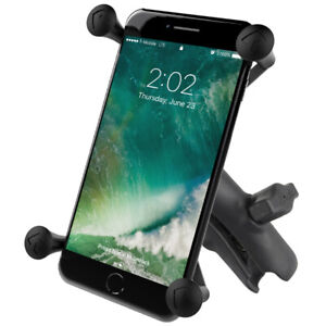 RAM Mount X-Grip Large Phone/GPS Holder and Standard Composite Arm