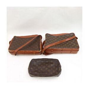 Louis Vuitton Monogram Shoulder Bag Cosmetic Pouch 3 pieces set 525742