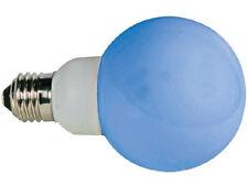 BOMBILLA 20 LEDS AZUL LAMPARA E27 230VCA 60MM APTA REGULADOR DIMMER  BD2051
