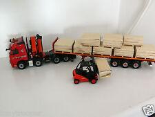 "Escala 1:50 de madera hechas a mano paletas de madera contrachapada, plena carga, Ideal código 3, ""Nuevo"""