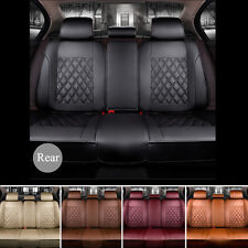 NEW Breathable Luxury PU Leather Car Seat Cover Cushion Back Seat Multicolor US