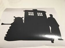 Dr Who Trio,car decal/ sticker for windows, bumpers , panels or Laptops