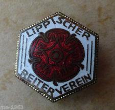 Reitsport LIPPE Lippischer  Reiter  Verein original altes Mitgliedsabzeichen