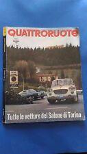 Quattroruote n. 120 Dicembre 1965 anno X n. 12