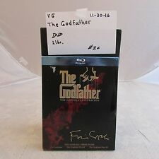 The Godfather The Coppola Restoration blu-ray disc-includes all three films 1130