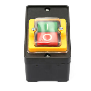 Push button Motor Start Stop AC 220V/380V Waterproof ON/OFF Push Button Switch