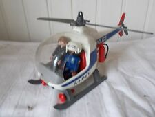 PLAYMOBIL 3908 Policiers d`intervention/hélicoptère 1997