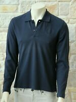 MOSCHINO Men's 100% Cotton Long Sleeve Blue T-Shirt Size M Free P&P New w Tags