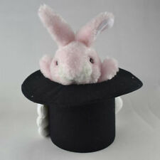 Deluxe Rabbit In Hat Puppet Magic Tricks Cute Bunny Stage Comedy Toy for Kids