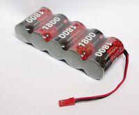 Batteria Battery 6v 1800mAh Ni-Cd SC for 1/5 DTM CAR Genius Harm FG Bergonzoni