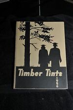 1956 John D. Bassett High School Timber Tints Yearbook Annual with Autographs