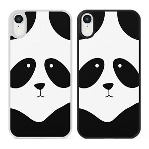 CUTE PANDA FACE Kawaii Phone Case Cover Apple iPhone Samsung Galaxy Bear Animal