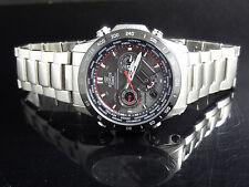 Casio EQWM1000DB-1 Men's Edifice Tough Solar Wave Ceptor Chronograph Date Watch