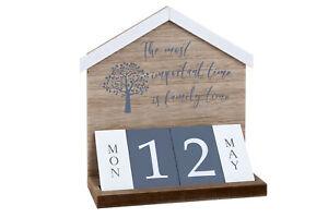 wooden family tree calendar