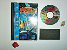 STAR WARS REBEL ASSAULT sega Mega CD MCD no megadrive-master system-saturn NTSC