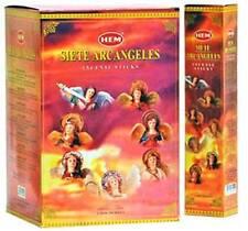 7 Archangels Incense Variety Set (5 sticks per Archangel = 35 sticks ea/box) HEM