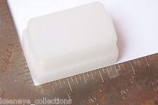 """Flash Diffuser - Approx. 1 1/2 x 2 5/8"""" Attachment - White - USED C152"""