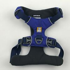 Ruffwear Huckleberry Blue Padded Front Range Front Clip Dog Harness sz S