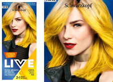 Schwarzkopf Live Semi Permanent Color  Citrus Neons 107 LEMON TWIST