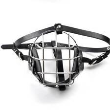 Inhaler Cover Dog Muzzle Metal Training Snout Breathable Metal Wire Basket LR
