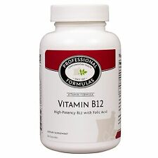 VITAMIN B12 PROFESSIONAL FORMULAS HIGH POTENCY B12 WITH FOLIC ACID SUPPLEMENTS