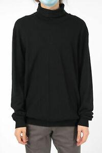 RED SOUL men Knitwear Size XL Black Turtleneck Sweater Pullover Black Xl (Sta...