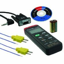BK Precision 715 Dual Input Thermometer with Datalogging