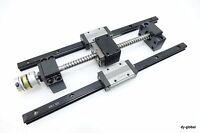 Linear Actuator Parts Used THK SHS15V+340mm Ground Ball Screw LMK1205+265mm BK10