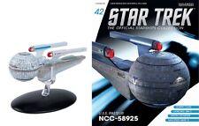 Star TREK OFFICIAL Starships Magazine #42 USS Pasteur ncc-58925 EAGLEMOSS DT.