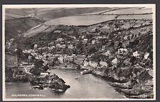 Postcard Polperro Cornwall aerial view sharp photo RP by Aero Pictorial