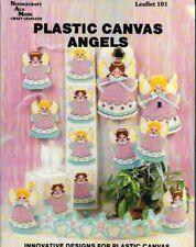 Plastic Canvas ANGELS Leaflet 101 Needlecraft Ala Mode 1989 6 Projects
