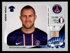 Panini Champions League 2012-2013 Jérémy Ménez Paris Saint-Germain FC No. 60