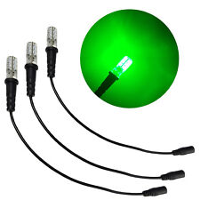 3 pack green special effects props scenery led 12 volts dc with cable socket G3P