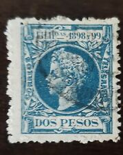 Philippines Stamp #211 Spain Occupation / colony used hinged. Dos Pesos