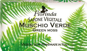 Sapone Saponette Profumate Florinda vegetale 100 gr MUSCHIO VERDE profumatissima