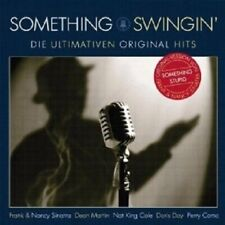 PEGGY LEE/DORIS DAY/MEL TORME/PERRY COMO/+ - SOMETHING SWINGIN' 2 CD JAZZ NEU