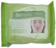 So Fresh Cleansing Towelettes Green Tea Makeup Remover Moisturises