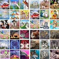 Animals DIY Acrylic Paint By Number Kit Oil Painting Canvas Art Home Wall Decor
