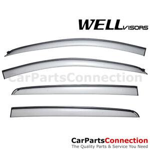 WellVisors Window Visors 12-20 Chevy Sonic Hatchback Sun Visors Deflectors