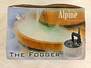 Alpine FG100  The Fogger  For Indoor Containers Halloween NOS    (E-6)