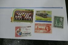 4 St Vincent postage stamps postal philately philatelic kiloware mail Caribbean